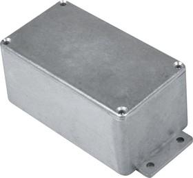 Фото 1/2 B015MF, Корпус для РЭА 114x64x55мм, металл, с крепежным фланцем