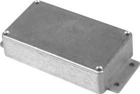 Фото 1/2 B013MF, Корпус для РЭА 114x64x30мм, металл, с крепежным фланцем