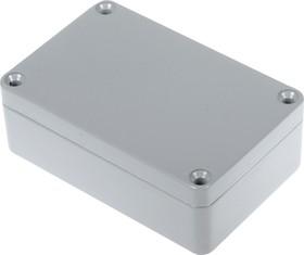 G103P, Корпус для РЭА 98x64x34мм окрашенный, металл, герметичный, серый