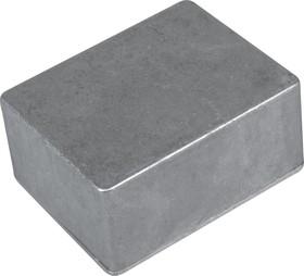 Фото 1/2 B029MF, Корпус для РЭА 140x100x75мм, металл, с крепежным фланцем