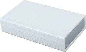 Фото 1/2 G760, Корпус для РЭА 95х158х36 мм, пластик, светло-серый, темно-серая панель