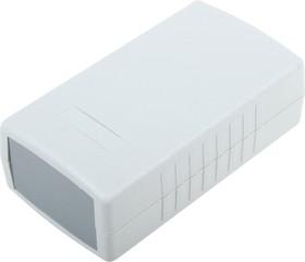 Фото 1/3 G434, Корпус для РЭА 90х50х32 мм, пластик, светло-серый