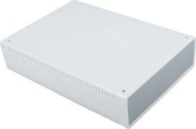 G770, Корпус для РЭА 200х280х60 мм, пластик, светло-серый, темно-серая панель