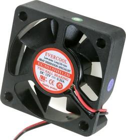 EC5015HH12B, Вентилятор 12 в, 50х50х15мм , подш. качения, 5500 об/мин