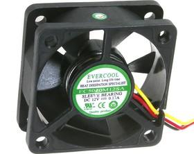 EC5020M12SA, Вентилятор 12 в, 50х50х20мм , подш. скольжения, 4500 об/мин