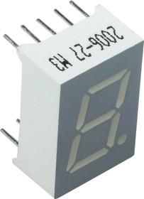 SA05-11GWA, Индикатор зеленый ОА, 10.5мКд 12.7мм, 7х1