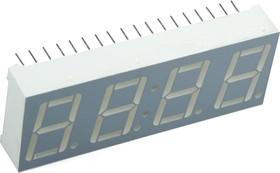 CC56-11SRWA, Индикатор красный ОК, 24мКд, 14.2мм 4х7