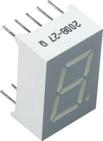 SA05-11SRWA, Индикатор 12.7мм, 7х1 красный ОА, 24мКд