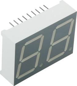 DA08-11SRWA, Индикатор красный ОА 20.3мм 2х7, 24мКд