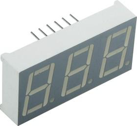 Фото 1/2 BA56-12GWA, Индикатор зеленый ОА 14.2мм 3х7, 10.5мКд (OBSOLETE)