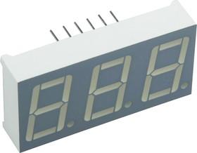 BC56-12EWA, 14.2мм 3х7 красный ОК, 6.4мКд