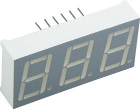 BC56-12GWA, Индикатор зеленый ОК 14.2мм 3х7, 10.5мКд