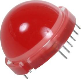 DLA/6SRD, Светодиодная сборка красная ОА d=20мм 400мКд