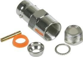 HYR-0102A (GB-102A) (BNC-7025A), Разъем BNC, гнездо, RG-58, зажим (Clamp)