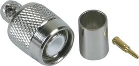HYR-0205C (GT-205C) (TNC-7401C), Разъем TNC, штекер, RG-6, обжим (Crimp)