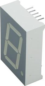 SA10-21GWA, Индикатор зеленый ОА 25.4мм, 7х1, 24мКд