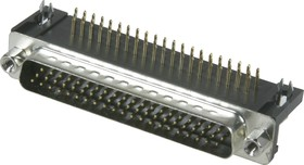 DHR-62M (DS1038 62M), Вилка 62 pin высокой плотности на плату