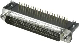 Фото 1/2 DHR-62M (DS1038 62M), Вилка 62 pin высокой плотности на плату