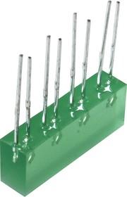 L-865/4GDT, Световая полоса зеленая 5х22мм 10мКд