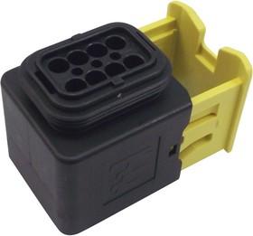Фото 1/2 1-1418479-1, Корпус разъема, Серия MCP 1.5K, Гнездо, 8 вывод(-ов), 4 мм, Силовыми контактами AMP серии MCP 1.5K