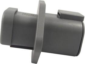 DTP04-4P-LE07, Корпус разъема, IP68, DTP Series, Гнездо, 4 вывод(-ов), 6.71 мм, Штыревыми контактами серии DTP