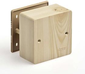 Фото 1/2 Коробка универсальная для кабель-каналов 85х85х42 сосна (светл. основа) IP40 Ruvinil 65015-27М