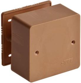 Фото 1/2 Коробка универсальная для кабель-каналов 85х85х45 корич. IP40 Ruvinil 65015К