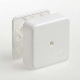 Фото 1/2 Коробка универсальная для кабель-каналов 80х80х25 IP40 Ruvinil 65005