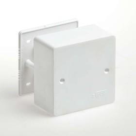 Фото 1/2 Коробка универсальная для кабель-каналов 85х85х42 IP40 Ruvinil 65015