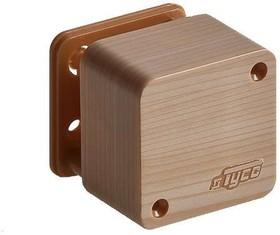 Фото 1/2 Коробка распределительная ОП 55х55х32мм IP40 сосна (светл. основа) Ruvinil 65002-27М