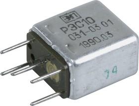 Фото 1/3 РЭС10 РС4.529.031-03.01, (24-35В), Реле электромагнитное