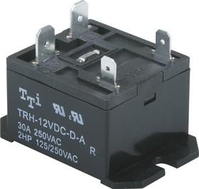 TRH-12VDC-D-A-R, Реле 1зам. 12V / 30A, 240VAC