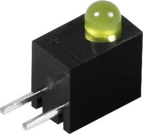 Фото 1/3 L-934CB/1YD, Светодиод в корпусе желтый 60° d=3мм 15мКд 588нМ