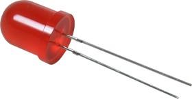 Фото 1/2 L-813SRD-C, Светодиод красный d=10мм 300мКд