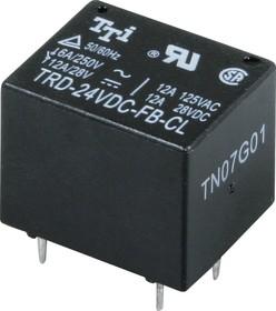 TRD-24VDC-FB-CL-(R), Реле 1пер. 24V / 12A, 28VDC (OBSOLETE)