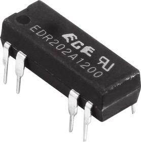EDR202A1200, Реле герконовое 12V / 1A,100V