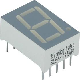 SC56-11EWA, Индикатор красный ОК, 6.4мКд, 14.2мм, 7х1