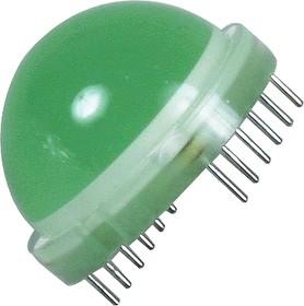 DLA/6GD, Сборка светодиодная зеленая ОА d=20мм 40мКд