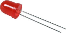 L-793SRD-C, Светодиод красный d=8мм 300мКд