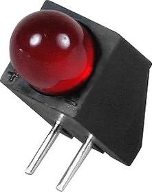 L-1533BQ/1ID, Светодиод красный d=4.7мм 30мКд