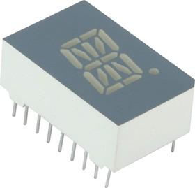 PSC05-11GWA, Индикатор зеленый ОK, 4.7мКд 12.7мм, 16х1
