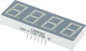 CC56-12YWA, Индикатор 14.2мм 4х7 желтый ОК, 4.7мКд