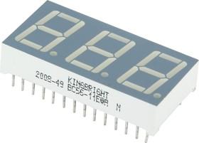 BC56-11EWA, Индикатор 14.2мм 3х7 красный ОК, 6.4мКд
