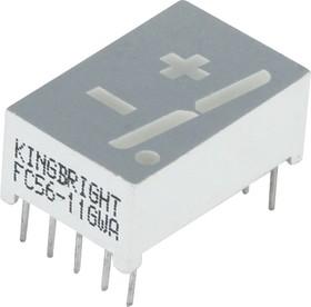FC56-11GWA 14.2мм +/-1 зеленый ОК, 5600мкКд