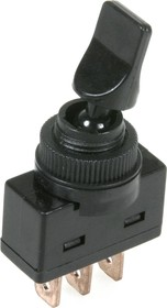 ASW-14-102 (черный), Тумблер ON-ON 3P (20A 12VDC)