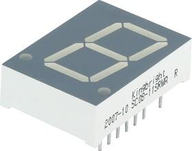 SC08-11SRWA, Индикатор 20.32мм, 7х1 красный ОК, 24мКд