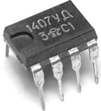 КР1407УД3, Малошумящий широкополосный операционный усилитель широкого применения