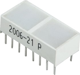 KB-G100SRW, Световая полоса красная 20х10мм 200мКД