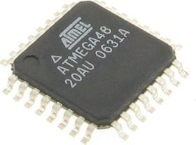 ATmega48P-20AU, Микроконтроллер 8-Бит, picoPower, AVR, 20МГц, 4КБ Flash [TQFP-32]