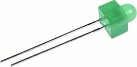 L-453GD, Светодиод зеленый d=5мм 15мКд